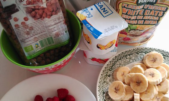 Prepara un desayuno sano en menos 2 minutos