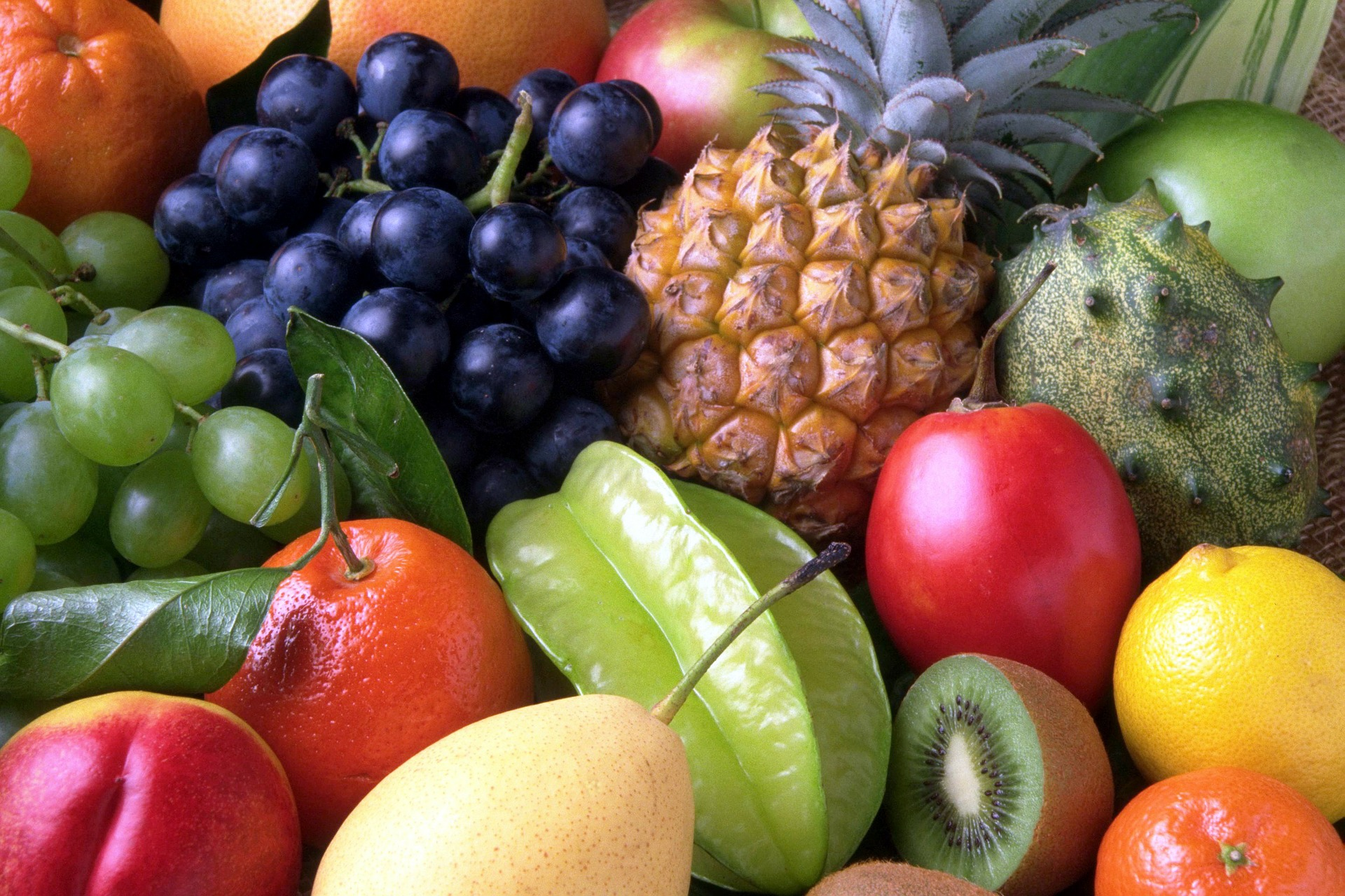 Foto de frutas en la despensa